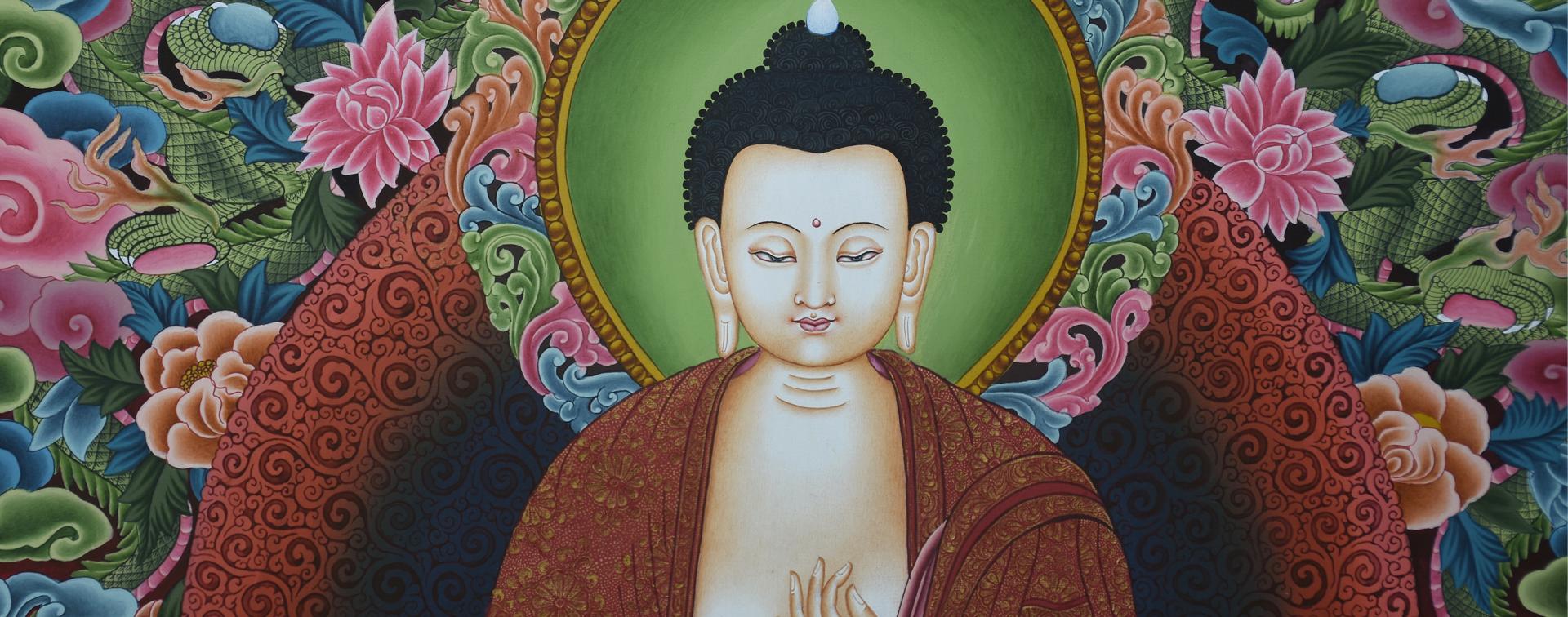 Vairocana Buddha Thangka
