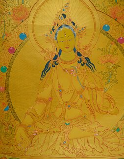 Gold Thangka