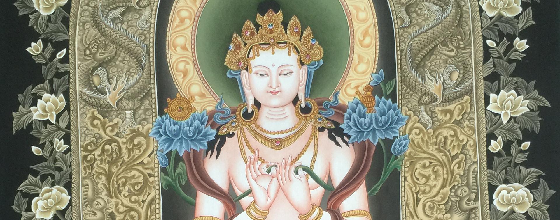 Maitreya Buddha Thangka