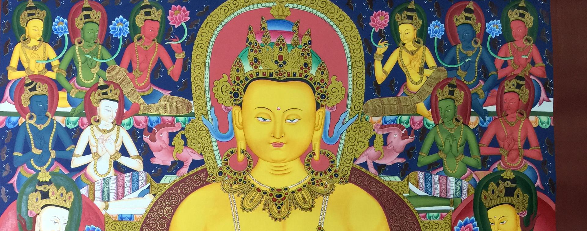 Shakyamui Buddha Thangka