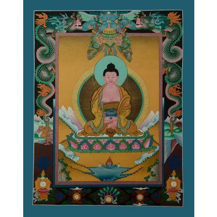 """20""""x16"""" Tibetan Buddhist Amitabha Buddha Thangka  Painting"""