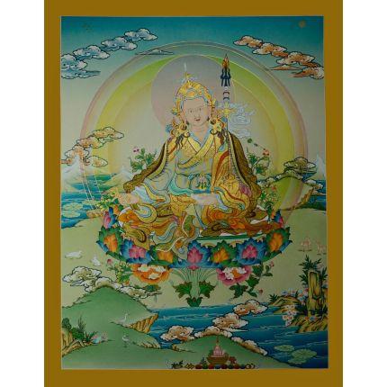 """26.25""""x20.25"""" Guru Padmasambhava Thangka"""