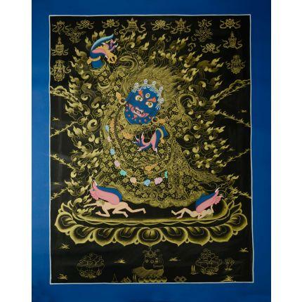 """28""""x22"""" Kajupa Thangka Painting"""