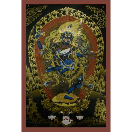Vajravarahi or Dorje Phagmo Thangka Painting