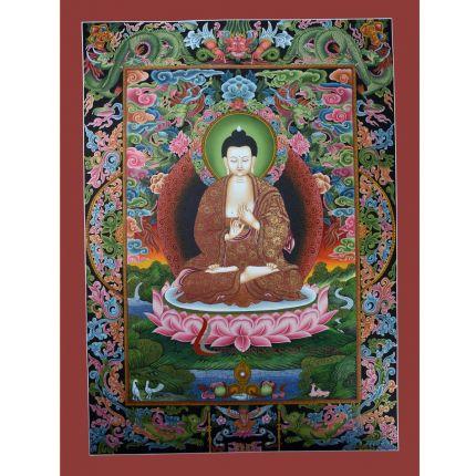 Vairochana Buddha Thangka
