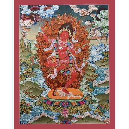 Vajravarahi Thangka  Dorje Phagmo Thangka